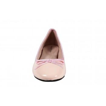 Patent PU ballerinas