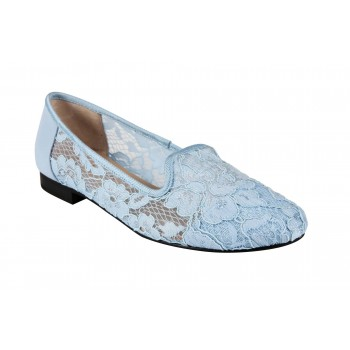 FLORAL LACE LOAFER