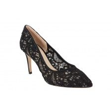 LACE POINT TOE HEEL PUMP