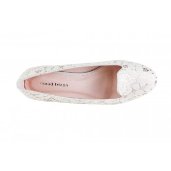 LACE WITH METALLIC BASE LOAFER
