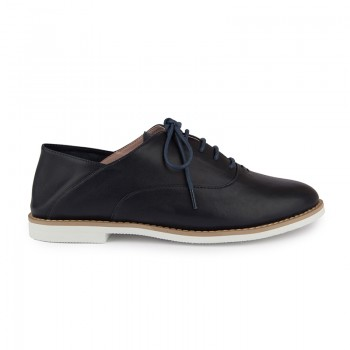 HALF LINED LEATHER OXFORD
