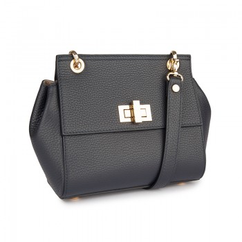 MINI LEATHER CROSSBODY BAG WITH STRAP