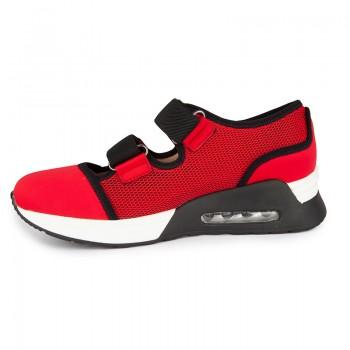 Double velcro straps sneakers