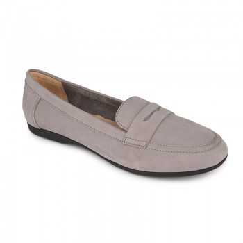 Nubuck loafers