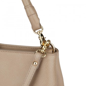mini textured leather crossbody bag