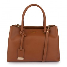 Medium texutred textured leather tote