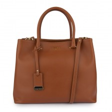 Large textured leather tote