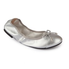 METALLIC PU FOLDABLE BALLERINAS